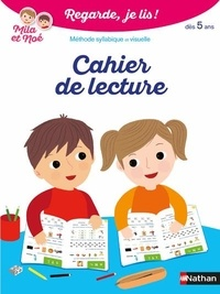Eric Battut - Cahier de lecture Regarde je lis ! - Dès 5 ans.