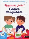 Eric Battut - Cahier de syllabes dès 5 ans.