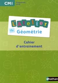 Eric Battut et Daniel Bensimhon - L'atelier de géométrie CM1 - Cahier d'entraînement.