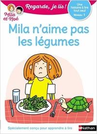 Eric Battut - Mila et Noé  : Mila n'aime pas les légumes.