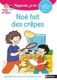 Eric Battut - Mila et Noé  : Noé fait des crêpes.