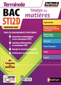 Eric Baussont et Jean-Louis Carnat - Toutes les matières Terminale STI2D.