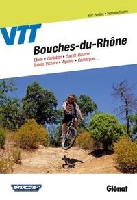 Eric Béallet et Nathalie Cuche - VTT dans les Bouches-du-Rhône.