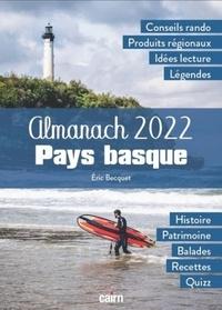 Eric Becquet - ALMANACH 2022 Pays basque.