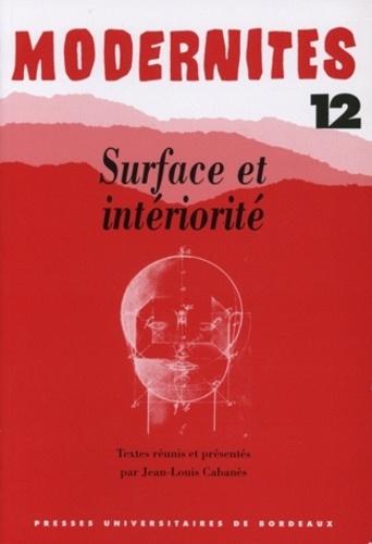 Eric Benoit et Jean-Louis Cabanès - Surface et intériorité.