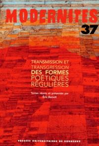 Transmission et transgression des formes poétiques régulières.pdf