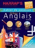 Eric Berger et Pascal Guichard - Anglais de la 3e à la 2e - Cahier de vacances 100% jeux.