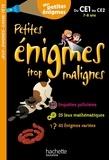Eric Berger - Petites énigmes trop malignes du CE1 au CE2 - Mes petites énigmes.