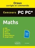 Eric Billault - Mathématiques PC-PC* - Oraux corrigés et commentés.