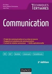 Eric Bizot et Marie-Hélène Chimisanas - Communication.