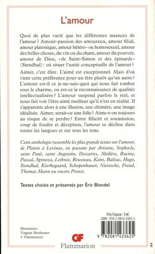 L'amour. Prépas scientifiques  Edition 2019