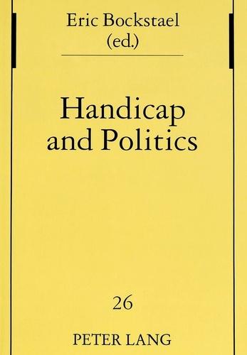 Eric Bockstael - Handicap and Politics.