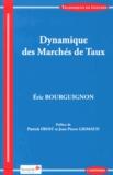Eric Bourguignon - Dynamique des marchés de taux.
