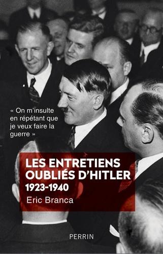 Les entretiens oubliés d'Hitler (1923-1940) - Format ePub - 9782262079468 - 14,99 €