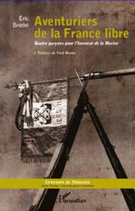 Corridashivernales.be Aventuriers de la France libre - Quatre garçons pour l'honneur de la Marine Image