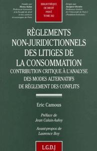 Règlements non-juridictionnels des litiges de la consommation. Contribution critique à lanalyse des modes alternatifs de règlement des conflits.pdf