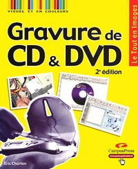Eric Charton - Gravure de CD & DVD.