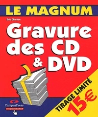 Eric Charton - Gravure des CD & DVD.