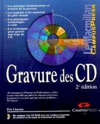 Eric Charton - Gravure des CD - Avec un CD-Rom.