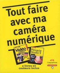 Eric Charton et Elise Maillard - Tout faire avec ma caméra numérique Coffret en 2 volumes : Tome 1, Vidéo numérique ; Tome 2, Pinnacle Studio 9.