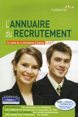Eric Charvet - L'Annuaire du recrutement - Le guide de la recherche d'emploi.