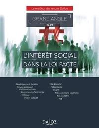 Eric Chevrier et Erwan Royer - L'intérêt social dans la loi PACTE.