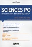 Eric Cobast et Isabelle Bléjean - Sciences Po - Réussir l'examen d'entrée à tous les IEP.