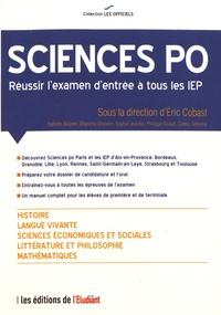 Eric Cobast - Sciences Po - Réussir l'examen d'entrée à tous les IEP.