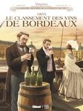 Eric Corbeyran et Lucien Rollin - Vinifera  : 1855, le classement des vins de Bordeaux.