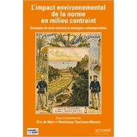 Galabria.be L'impact environnemental de la norme en milieu contraint - Exemples de droit colonial et analogies contemporaines Image
