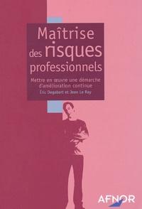 Maîtrise des risques professionnels - Mettre en oeuvre une démarche damélioration continue.pdf