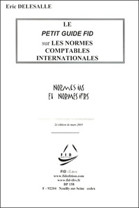 Eric Delesalle - Les normes comptables internationales IAS-IFRS.