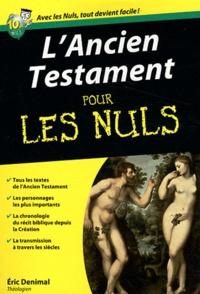 Eric Denimal - L'Ancien Testament pour les nuls.