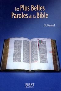 Eric Denimal - Les Plus Belles Paroles de la Bible.