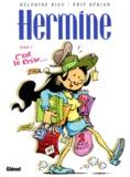 Eric Dérian et Delphine Rieu - Hermine Tome 1 : C'est la crise.