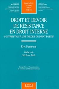 Eric Desmons - .