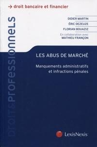 Goodtastepolice.fr Les abus de marché - Manquement administratifs et infractions pénales Image