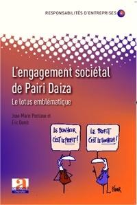 Eric Domb et Jean-Marie Postiaux - L'engagement sociétal de Pairi Daiza - Le lotus emblématique.