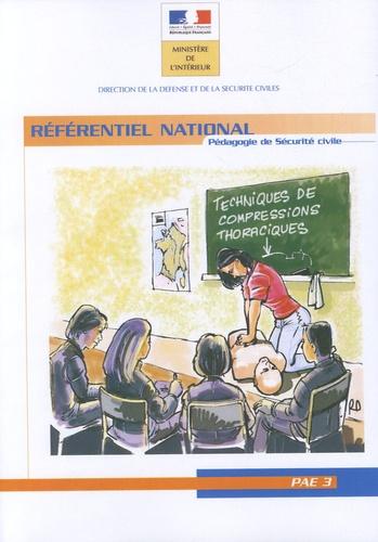 Eric Dufès - Pédagogie appliquée aux emplois / Activités de classe 3 - Référentiel national Pédagogie de sécurité civile.