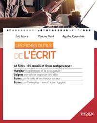 Eric Faure et Viviane Point - Les fiches outils de l'écrit.