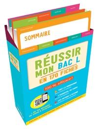 Eric Fourcassier et Romain Mercier - Réussir mon bac L en 170 fiches.