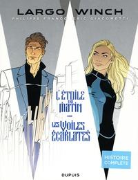 Eric Giacometti et Philippe Francq - Largo Winch Tomes 21 et 22 : L'étoile du matin ; Les voiles écarlates - Pack en 2 volumes.