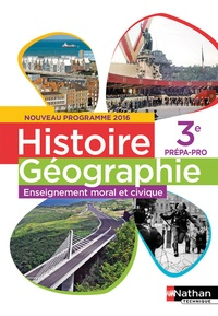 Accentsonline.fr Histoire Géographie Enseignement moral et civique 3e prépa-pro Image
