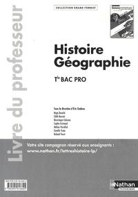 Eric Godeau et Edith Bomati - Histoire-Géographie Tle Bac Pro - Livre du professeur.