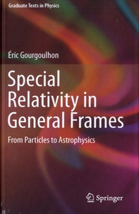 Coachingcorona.ch Special Relativity in General Frames - From Particles to Astrophysics Image