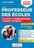 Eric Greff - CRPE - Concours Professeur des écoles - Français et Mathématiques - Les Annales corrigées - Sessi... - Admissibilité 2021.