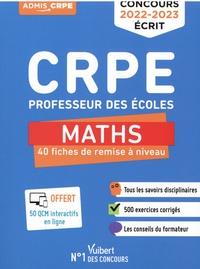 Eric Greff et André Mul - CRPE Professeur des écoles - 40 fiches de remise à niveau.