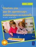 Eric Greff et Josiane Hélayel - Situations-jeux pour des apprentissages mathématiques en maternelle (GS). 1 Cédérom