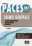 Eric Hébert - Chimie Générale - Thermodynamique chimique, Equilibre chimique, Atomistique.