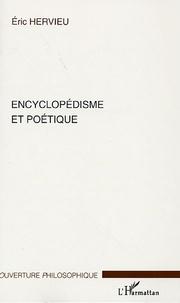 Eric Hervieu - Encyclopédisme et poétique.